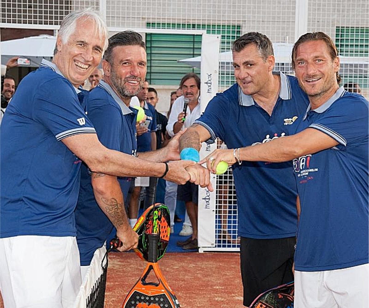 Padel Sport delle celebrità Arezzo